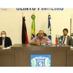 Amilton Fernandes volta a comandar os trabalhos do legislativo Uiraunense, em sessão ordinária realizada nessa sexta-feira 18.
