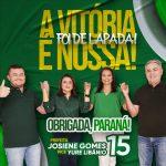 Josiene Gomes (MDB) é eleita prefeita de Paraná (RN)