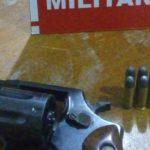 Polícia prende suspeito de porte ilegal de arma no Sertão da Paraíba