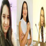 Bancada feminina da Câmara Municipal de Uiraúna terá três parlamentares a partir de janeiro.