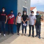 Equipe do Encanto visita o município de Paraná, tomando como referência a gestão em saúde que é ofertada no município