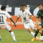 Apagão, VAR e bom clássico: Santos e Palmeiras empatam na Vila
