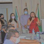 Neidinha Paulino se despede do mandato e da presidência da Câmara comandando a ultima sessão em José da Penha/RN