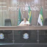 Mesmo em recesso, presidente Gean Batista intensifica trabalhos ma Câmara municipal de Luís Gomes/RN