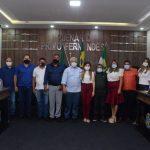 DIPLOMAÇÃO: Tututa, Rildo, vereadores e suplentes são diplomados em Luís Gomes/RN