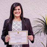 Marianna Almeida é diplomada como prefeita de Pau dos Ferros