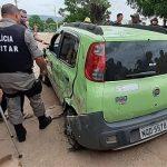 Polícia persegue acusado e recupera carro roubado em Uiraúna