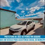 Prefeitura de José da Penha /RN Adquire mais um veículo para assistência social do município