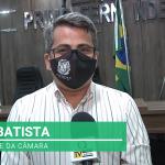 Veja vídeo: Gean Batista fala a nossa reportagem e faz balanço da gestão da Câmara de Luís Gomes/RN