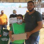 Crianças e adolecentes são beneficiadas com o Projeto Garotos Bom de Bola em Marcelino Vieira-RN