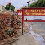 Secretaria de infraestrutura de Pau dos Ferros dá inicio ás obras das redes de esgosto no município