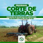 Prefeitura de Luís Gomes abre inscrições para cortes de terra