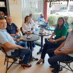 Prefeita de Paraná cumpre agenda na capital do Estado
