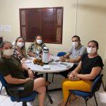 Prefeito Aldo Andrade e comitiva visitam Casa Lar e encaminha parceria com o município de Bernardino Batista