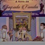 Veja vídeo: Devotos participam da festa da Sagrada Família em Uiraúna/PB