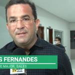 Thales Fernandes entrega várias obras em seu último dia de mandato em Major Sales/RN. Veja vídeo