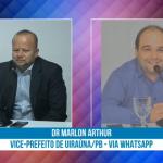 Dr.  Marlon Arthur afirma que Uiraúna partiu na frente e já têm plano de vacinação contra COVID 19