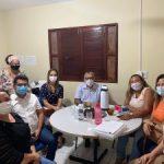 Prefeito Itamar Moreira e secretária de Assistência Social Ruth Medeiros visitam a instituição de acolhimento Casa Lar
