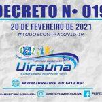 Novo decreto regulariza funcionamento do comércio, escolas e repartições