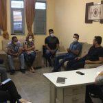 Prefeito Aldo se reúne com  secretários municipais em Bernardino Batista