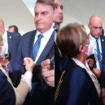 Prefeita Leninha Romão se encontra com o Presidente Bolsonaro em Brasília.
