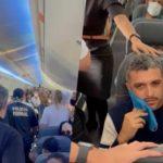 VÍDEO! Passageiro é retirado de voo por se recusar a usar máscara