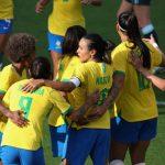 Seleção Brasileira feminina dá show e goleia a Argentina pela SheBelieves Cup