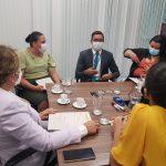 Em visita a Brasília, Prefeita Leninha Romão entrega o Projeto 'Padaria Escolar' ao Governo Federal