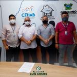 Prefeito de Luís Gomes cumpre agenda na capital do estado