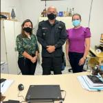 Equipe técnica da secretaria de saúde de Pau dos Ferros visita comandante da Polícia Militar