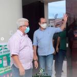 Secretário de agricultura, pecuária e pesca, visita a cidade de Luís Gomes na ultima quarta-feira (17)