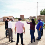 Prefeita Marianna Almeida realiza visita em obras no município