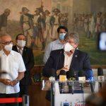 João e Cícero anunciam decisões conjuntas para enfrentar aumento do coronavírus