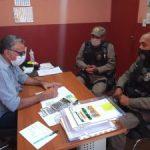 Prefeito Itamar se reúne com representantes da PM e pede intensificação na segurança pública do município de Poço Dantas