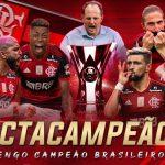 É campeão! Flamengo perde para o São Paulo, mas é octacampeão Brasileiro