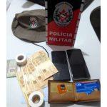 PM prende suspeitos de fraudar caixas eletrônicos em banco