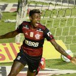 """Autor do gol do Flamengo contra o São Paulo, Bruno Henrique comemora: """"Outro patamar mesmo"""""""