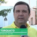Deputado Galeno visita aliados no alto oeste e anuncia recursos para o município de Paraná. Veja vídeo