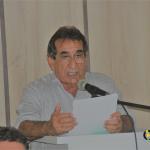 Dr Raimundinho lê mensagem anual na Câmara Municipal de José da Penha/RN