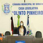 Câmara de Vereadores de Uiraúna realiza primeira sessão ordinária do ano 2021.