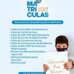 A rede Municipal de ensino de Pau dos Ferros/RN, reforça acerca do seu calendário de matrículas 2021
