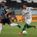 Com vantagem, Palmeiras recebe o Grêmio na decisão da Copa do Brasil