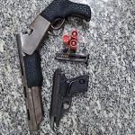 Homem é preso com duas armas após ameaçar populares em Luís Gomes/RN