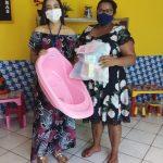 Prefeitura de Bernardino Batista entrega kits de enxoval para gestantes do Município