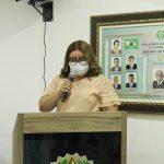Prefeita Maria Elce lê mensagem anual na Câmara Municipal de Major Sales/RN