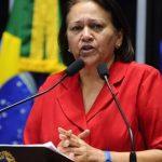 Fátima diz que Bolsonaro mente sobre transferência de verbas federais aos Estados