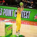 Steph Curry leva o título do torneio de 3 pontos do All-Star Game no último arremesso