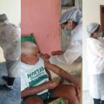 Prefeitura de Poço Dantas segue imunizando idosos contra a Covid-19