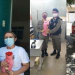 6º BPM DE CAJAZEIRAS HOMENAGEIA AS POLICIAIS FEMININAS