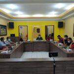 Raimundo Bila comanda mais uma sessão na camara Municipal de Bernardino Batista/PB